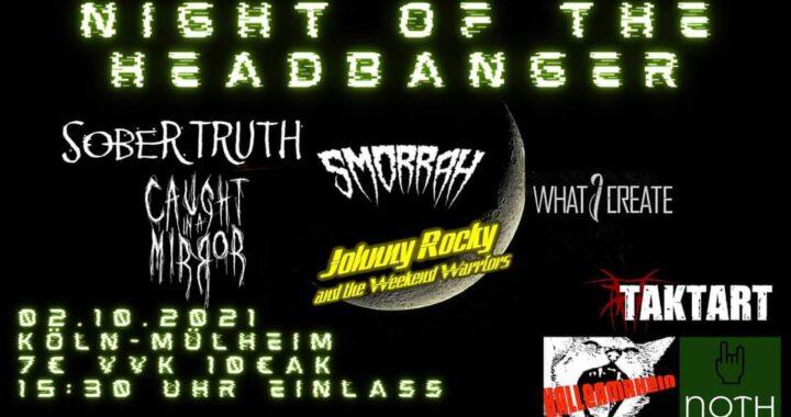 Night of the Headbanger wird erneut verschoben!